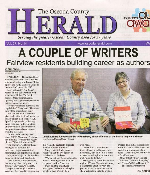 Headlines from Oscoda Herald 1