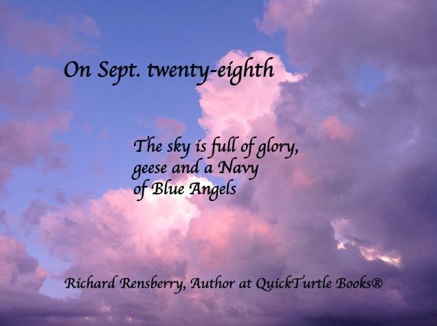 On Sept. Twenty-Eighth