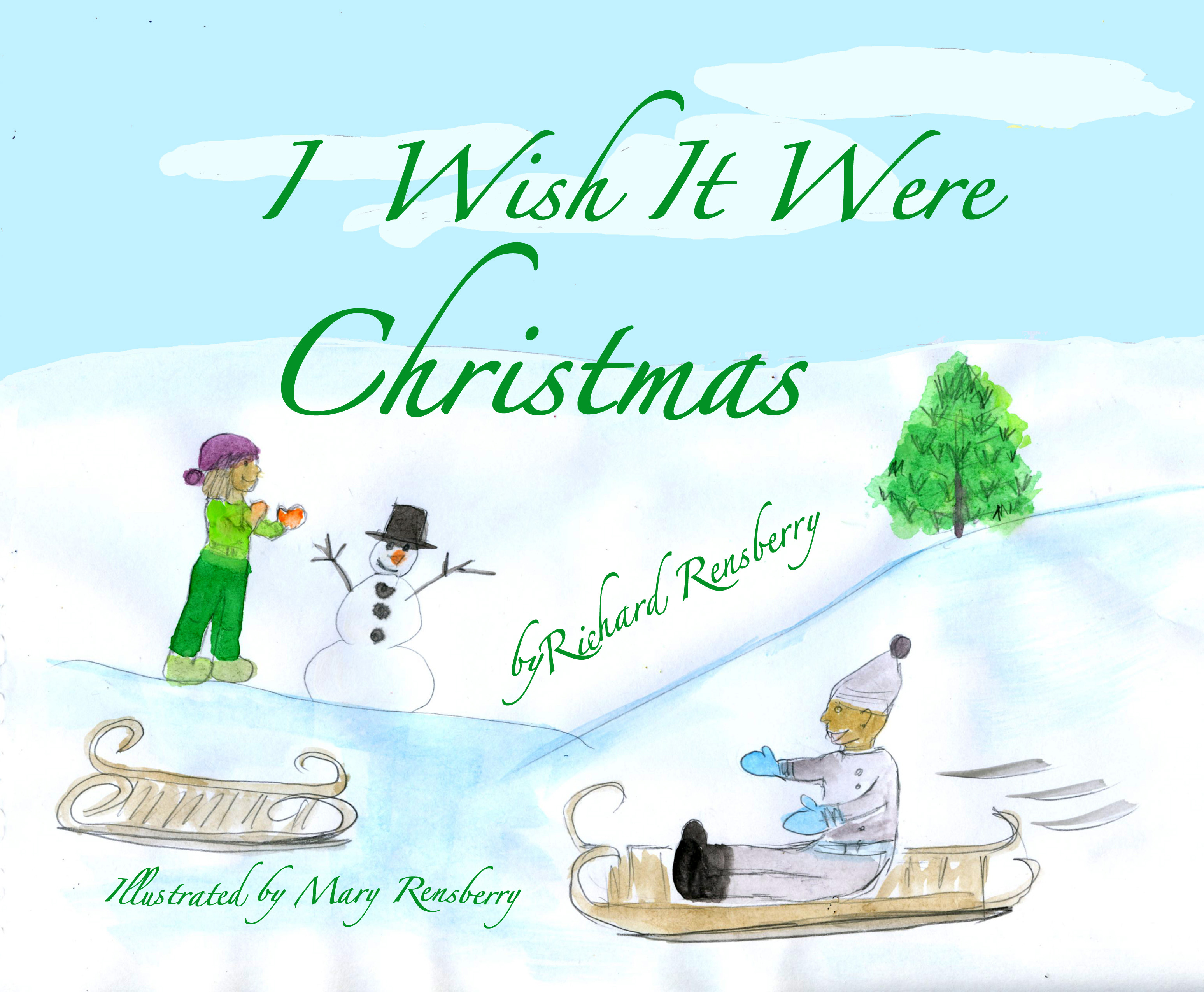 I Wish It Were Christmas Cover
